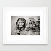 che Framed Art Prints featuring CHE by Dave Houldershaw