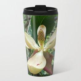 Botanical Garden Europe White Magnolia Travel Mug