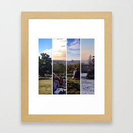 my favourtie view - four seasons Framed Art Print
