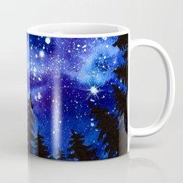 Pines at Night Coffee Mug