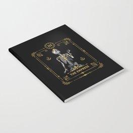 The Empress III Tarot Card Notebook