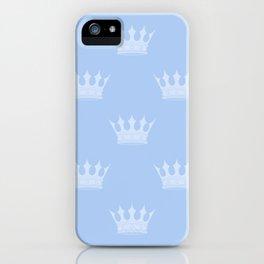 Louis Blue Crowns- Prince of Cambridge iPhone Case