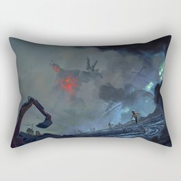 The Rise of Industry Rectangular Pillow