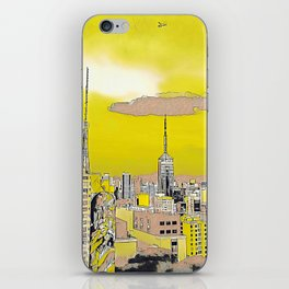 Sao Paulo - Art iPhone Skin