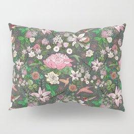 Hummingbird Garden Pillow Sham
