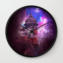 Boricua Strong Heart Wall Clock