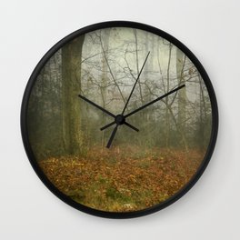 alterNatives - forest panorama Wall Clock