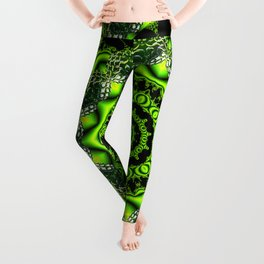 Web of the Spider, Dancing Around in the Forest Leggings