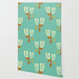 A moose ing Wallpaper