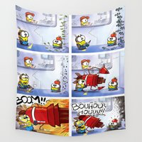 minion Wall Tapestries featuring Minion by Duitk