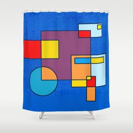 90 DEGREES Shower Curtain