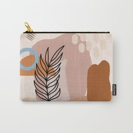 Modern minimalist abstract #4 Carry-All Pouch