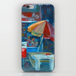 Dairy in Cambridge, New Zealand iPhone Skin