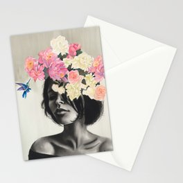 Humming Bird Nature Art Stationery Cards