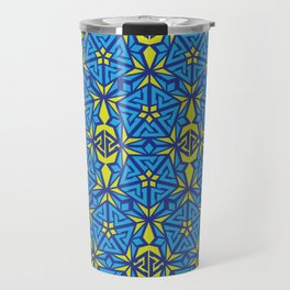 Peak Ascension Color Pattern Travel Mug