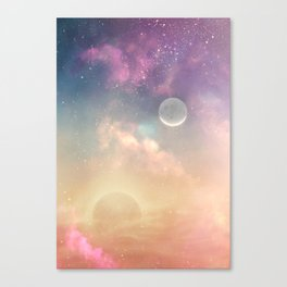 Floating light Canvas Print