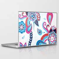 henna Laptop & iPad Skins featuring Henna Colourful by nicky9