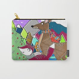 Fox and the deer Carry-All Pouch