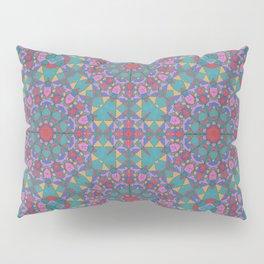 Jeweled Mandala Pillow Sham