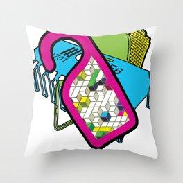 Art Basic Street Throw Pillow