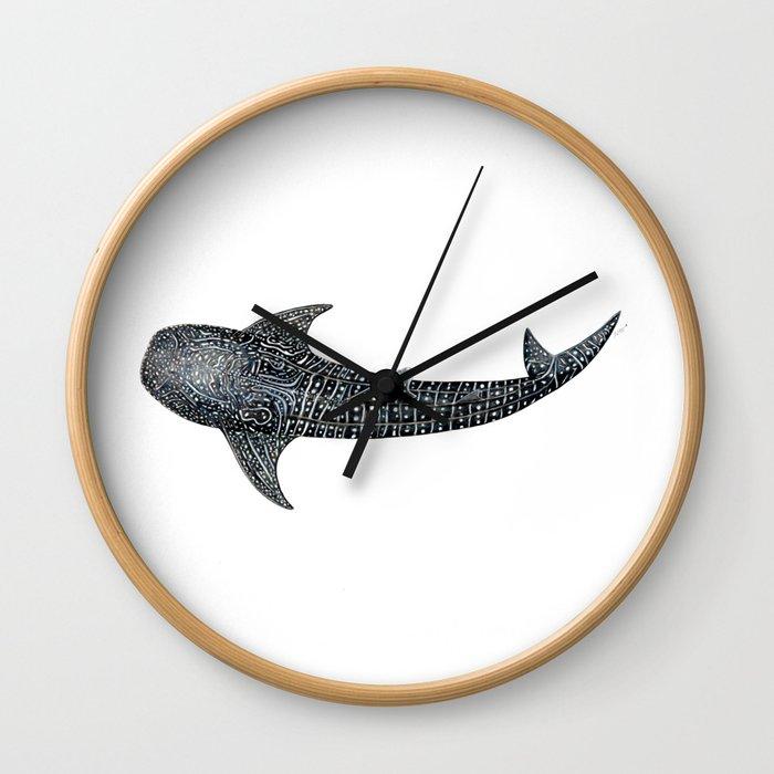 Whale shark Rhincodon typus Wall Clock
