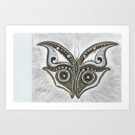 ALIEN NATURE Art Print