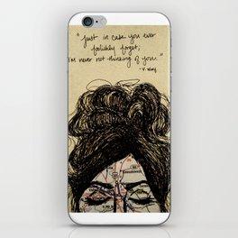 Long Distance Love  iPhone Skin