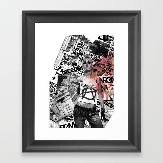 Zines Framed Art Print