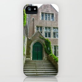Who Knocks at the Door of Learning? iPhone Case