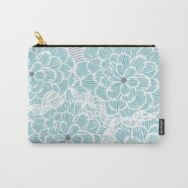 Pinstripe Spring Carry-All Pouch