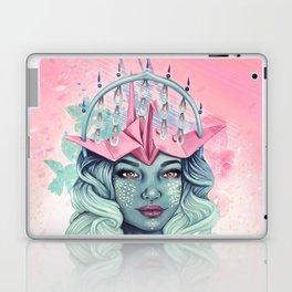 Tsuru Origami Girl Laptop & iPad Skin