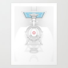 CONCEPTION OF BIOLITH Art Print