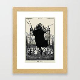 Fig. XV - The Devil Framed Art Print