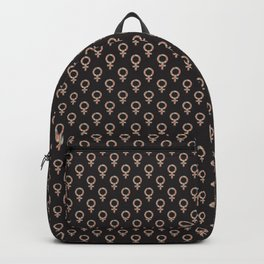 Fearless Female Black Backpack
