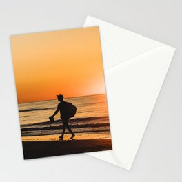 Sunset over Adriatic Sea Stationery Cards