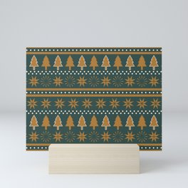 Winter Wonderland (Highland) Mini Art Print