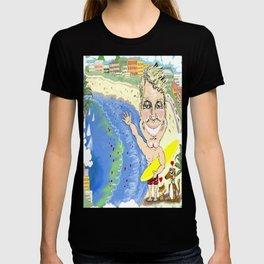 Greetings from Dr. Chris on Bondi Beach! T-shirt