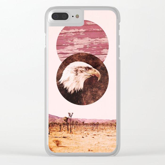 desert feels Clear iPhone Case