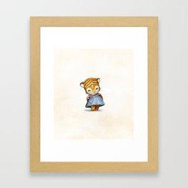 Lonely Ty Framed Art Print