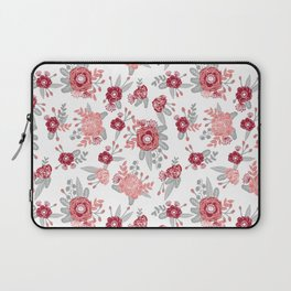 Floral Bama alabama crimson tide pattern gifts for university of alabama students and alumni Laptop Sleeve