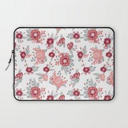 Floral Bama alabama crimson tide pattern gifts for university of alabama students and alumni Laptop Sleeve