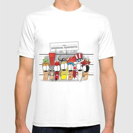 The Unusual Suspects T-shirt