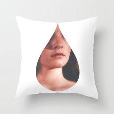 Tear for Apathy  Throw Pillow