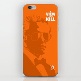 A View To A Kill iPhone Skin