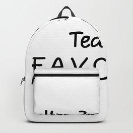 I'm 3rd Grade Teacher Favorite 3rd Grade Teacher Backpack