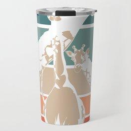 Giraffes Africa Travel Mug
