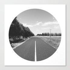 Straight & Narrow. Canvas Print