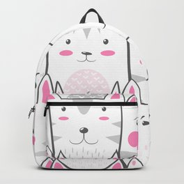 cats pattern Backpack