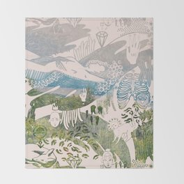 Dreamscape Throw Blanket
