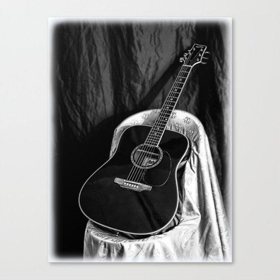 Acoustic Canvas Print